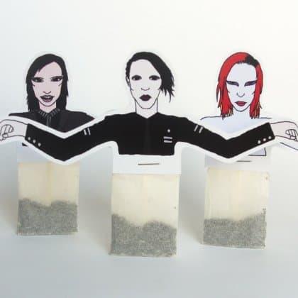 Herbatynki Marilyna Mansona, projekt Siana